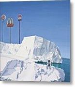 The Iceberg Metal Print