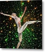 The Light Fantastic Dance and Stars Metal Print
