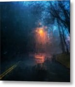 The Light Shines in the Darkness Metal Print