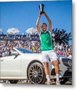 The MercedesCup Metal Print