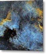 The North America Nebula Metal Print
