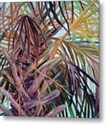 The Palm Metal Print