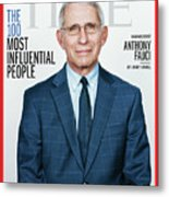 TIME 100 - Anthony Fauci Metal Print