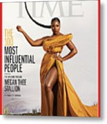 TIME 100 - Megan Thee Stallion Metal Print
