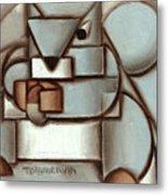 Tommervik Abstract Squirrel Acorn Art Print Metal Print