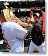 Tommy Hunter And Steve Pearce Metal Print