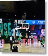 Toronto Raptors v Boston Celtics - Game Three Metal Print