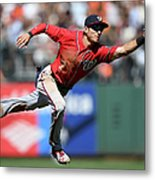 Trea Turner and Conor Gillaspie Metal Print