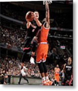 Tristan Thompson and Tyler Johnson Metal Print