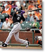 Troy Tulowitzki Metal Print