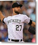 Tyler Chatwood Metal Print