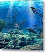 Undersea Discovery Metal Print