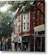 Uptown Westerville, OH - State and Main Metal Print
