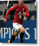 Urawa Red Diamonds v Beijing Guoan - AFC Champions League Group G Metal Print