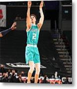Utah Jazz v Charlotte Hornets Metal Print
