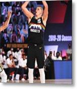Utah Jazz v Denver Nuggets - Game One Metal Print