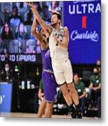 Utah Jazz v San Antonio Spurs Metal Print