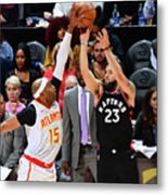 Vince Carter and Fred Vanvleet Metal Print