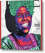 Wangari Maathai, 2001 Metal Print