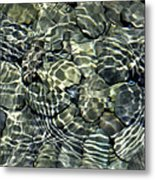 Water Rocks 2 Metal Print