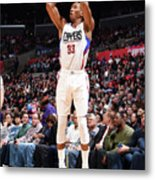 Wesley Johnson Metal Print