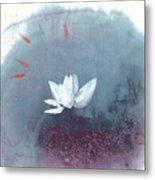 White Lotus IV Metal Print