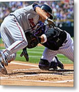 Wilin Rosario and Brian Dozier Metal Print