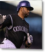 Wilin Rosario and Mike Minor Metal Print