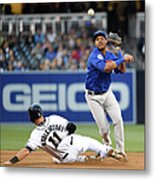 Will Middlebrooks and Starlin Castro Metal Print