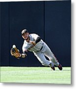 Will Venable and Gregor Blanco Metal Print