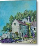 Village Vista Metal Print