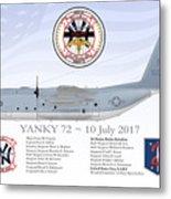 YANKY 72 - 10 July 2017 Metal Print