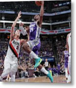 Zach Collins and Buddy Hield Metal Print