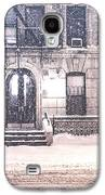 New York City Snow Galaxy S4 Case by Vivienne Gucwa