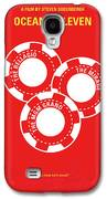 No056 My Oceans 11 Minimal Movie Poster Galaxy S4 Case by Chungkong Art