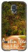 Hike And Bike Trail Galaxy S5 Case by James Granberry