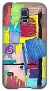 Color Fun Vi Galaxy S5 Case by Teddy Campagna