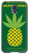 No264 My Pineapple Express Minimal Movie Poster Galaxy S5 Case by Chungkong Art
