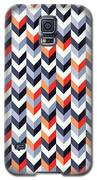 Retro Geometric Galaxy S5 Case by Mike Taylor
