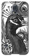 Upright Peacock Galaxy S5 Case by Megan Dirsa-DuBois
