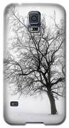 Winter Tree In Fog Galaxy S5 Case by Elena Elisseeva