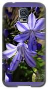 Blue Lily Galaxy S5 Case by Richard Lynch