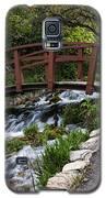 Cascade Springs Bridge Galaxy S5 Case by Richard Lynch