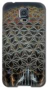 Disney Epcot Glowing At Night Galaxy S5 Case by Ericamaxine Price