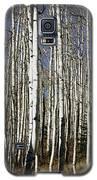 Fall Quaking Aspens Panorama Galaxy S5 Case by Richard Lynch
