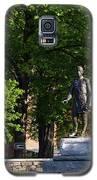 Joshua Lawrence Chamberlain Statue, Brunswick, Maine #0013 Galaxy S5 Case by John Bald