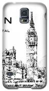 London The Fashion Capital Galaxy S5 Case by ISAW Company