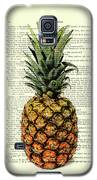 Pineapple In Color Illustration Galaxy S5 Case by Madame Memento