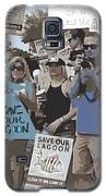 Save Our Lagoon Galaxy S5 Case by Megan Dirsa-DuBois