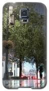 Sudden Downpour, New York City -130522 Galaxy S5 Case by John Bald